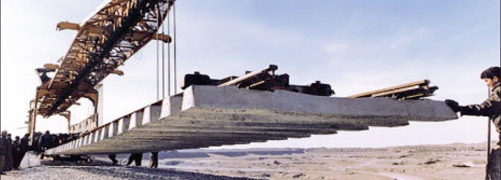 Astara-Astara Rail Project to Complete in 3 Months