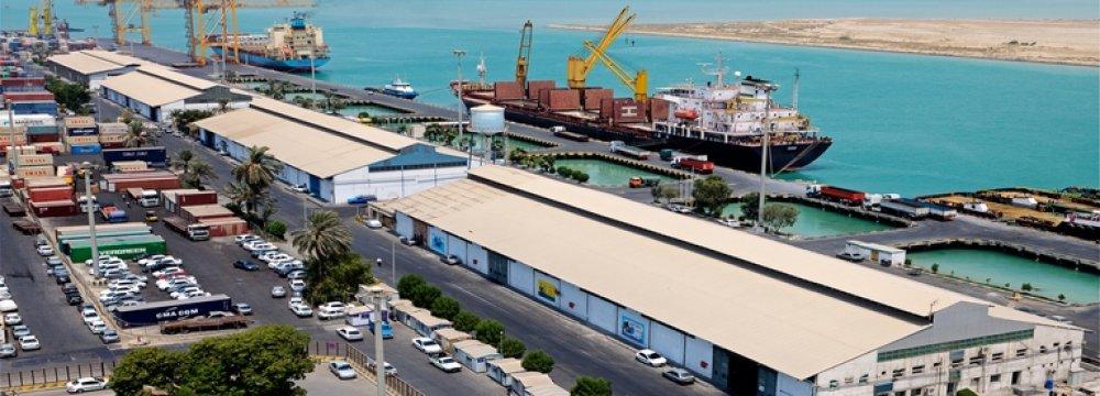 Bushehr Port Throughput Up 91%
