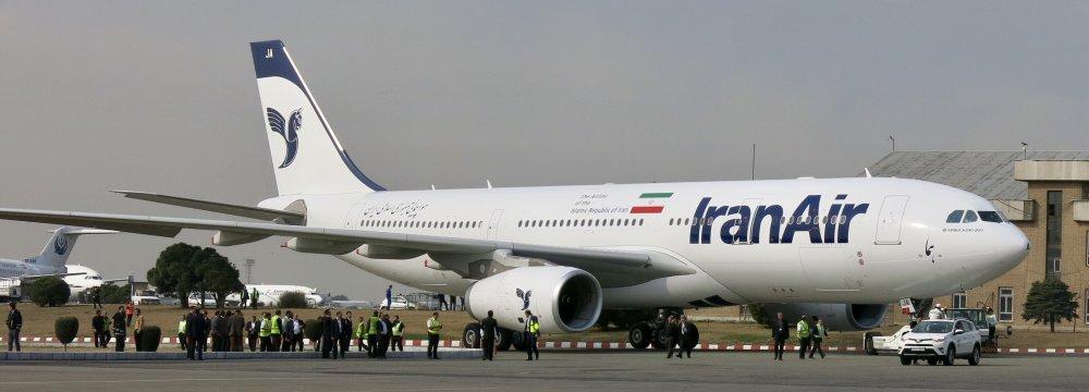 Iran Air Banks on New Planes to Prosper (Photo: Alireza Izadi)