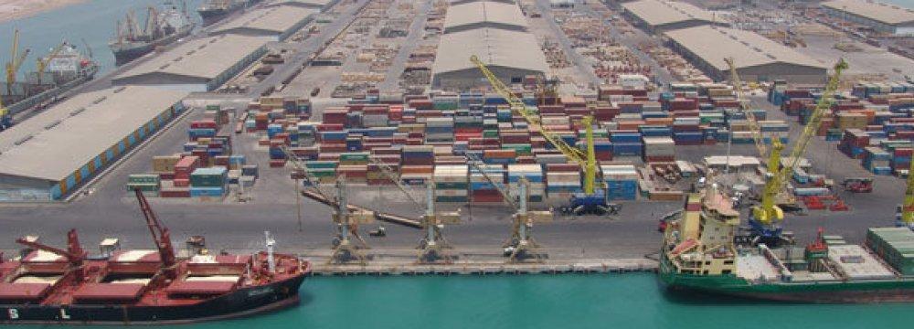 Iranian Ports Capacity  on the Rise