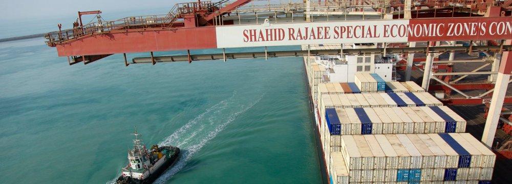 Shahid Rajaee Port Projects Under Construction