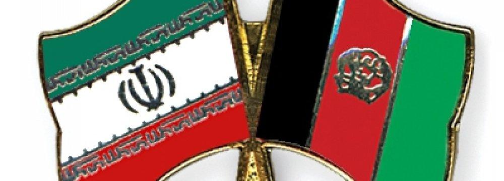 Tehran-Kabul Trade Doubles in 3 Years