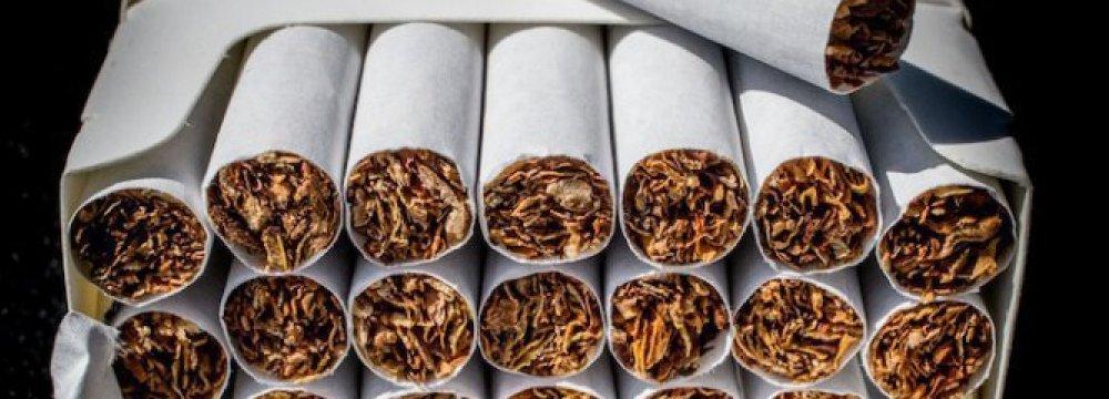 Cigarette Imports Down 58%