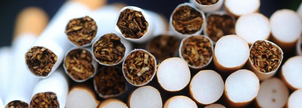 Steep Decline in Cigarette Imports