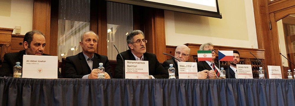 Prague Hosts Business Forum With Iran