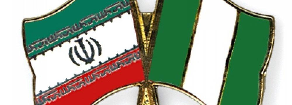 Iranian Exports to Nigeria  Up 55%