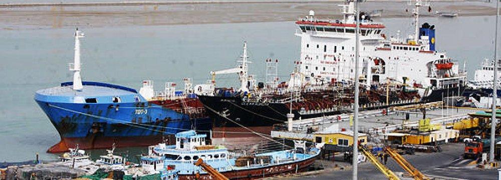 Imam Khomeini Port Operations Increase