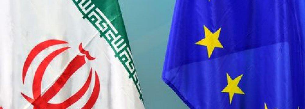 Iran-EU Oct. Trade Up 54%