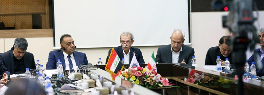 Iran, Iraq Private Sector Officials Meet in Tehran