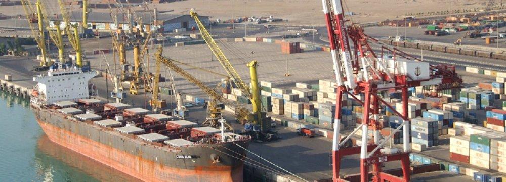Iranian Ports Throughput