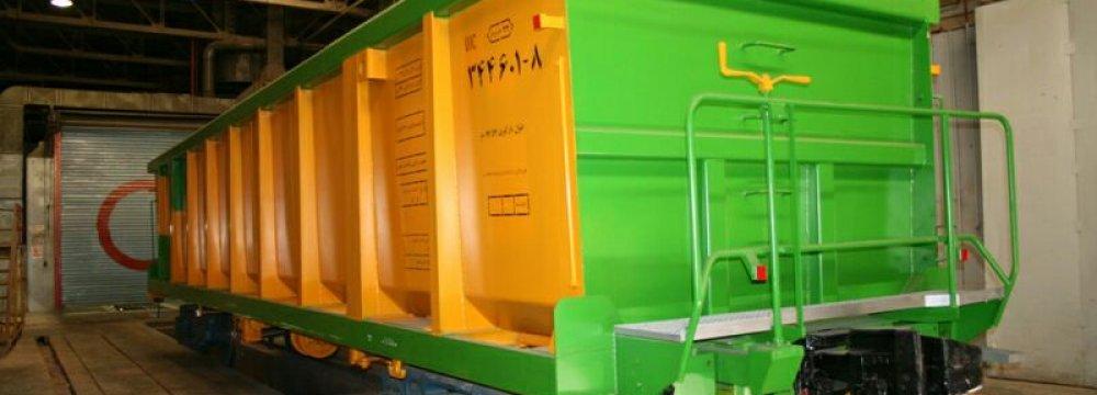 Wagon Pars Built 297 Passenger, Freight Cars Last Year