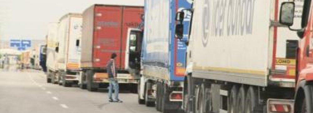 Iran Trucks to Be Exempt From Armenia Road Tax