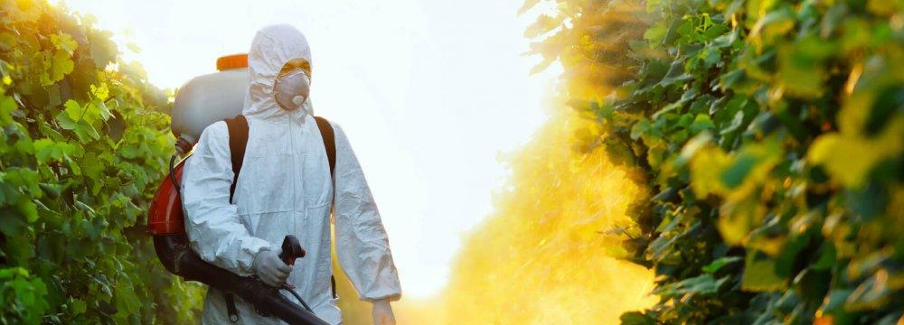 75% of Pesticide Demand Supplied Domestically