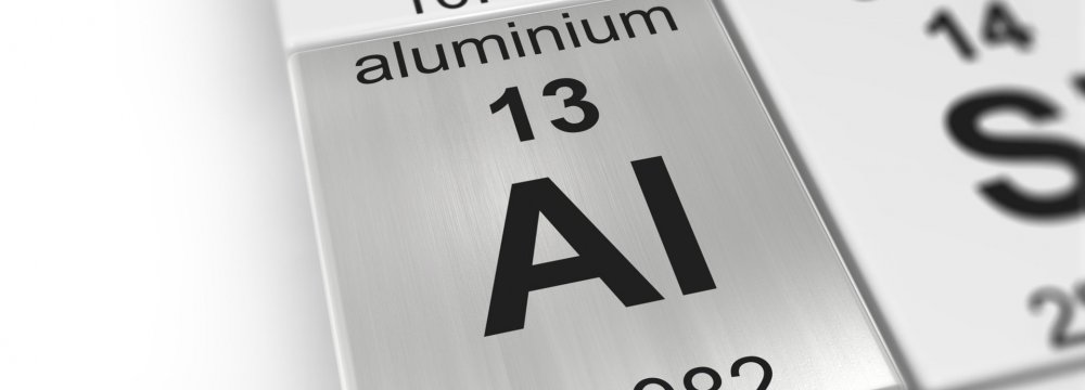 Drop in Iran's Aluminum Output