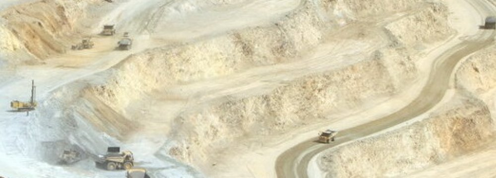 New Gold Mine Comes on Stream in Isfahan
