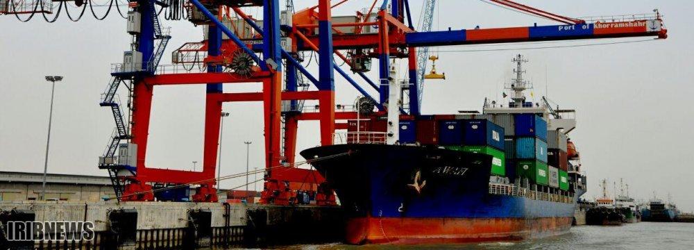 16% Rise in Khorramshahr Port Cargo Loading