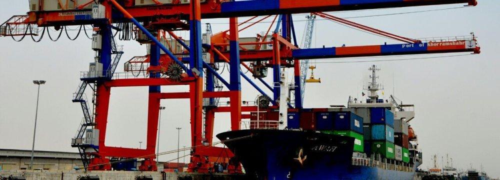 Exports From Khorramshahr Port Up 16 Percent