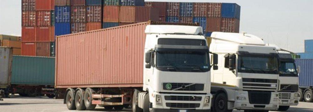 Trucks Transit Over 9m Tons of Goods