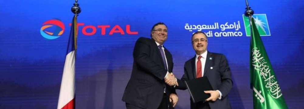 Total, Aramco to Build $9b Petrochem Complex