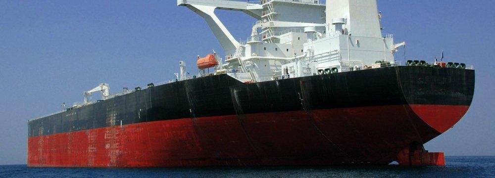 Iran exports 2.6 million barrels per day of crude oil and condensates.