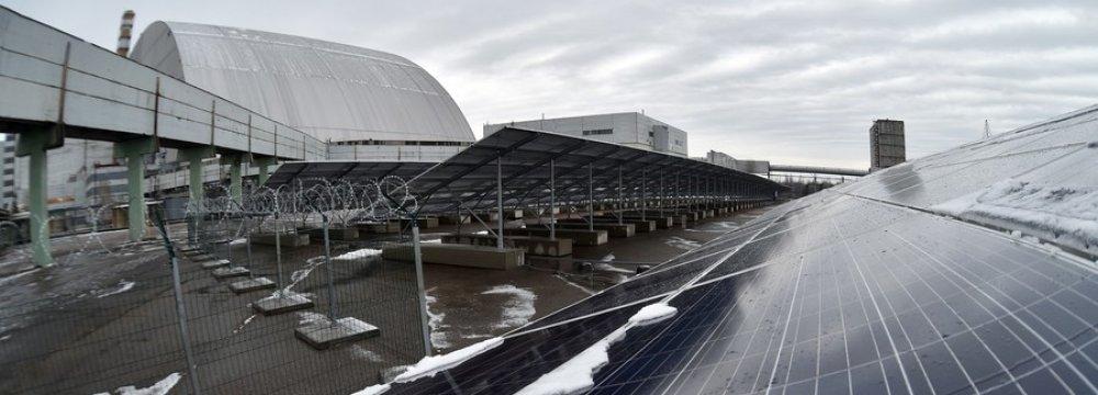 Chernobyl Repurposed for Solar Energy