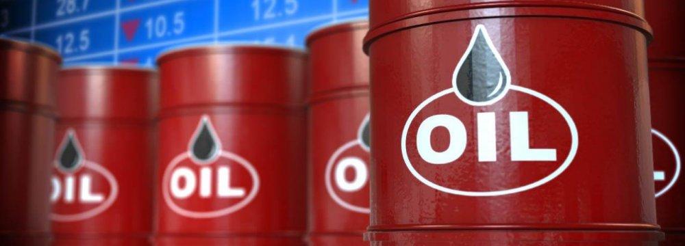 Iran Crude Prices Slide 5%