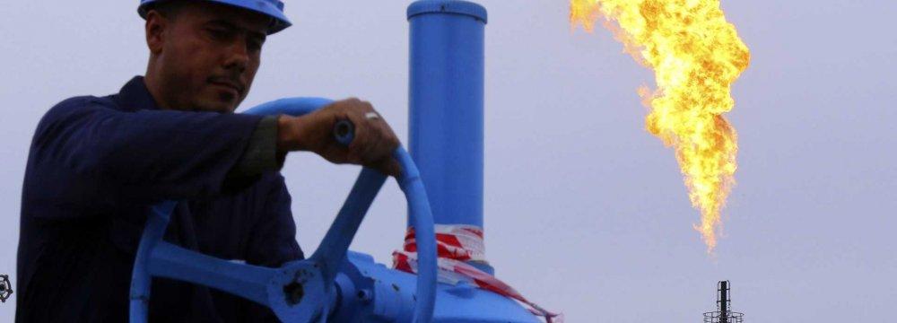 Crude Output Near 4 mbpd
