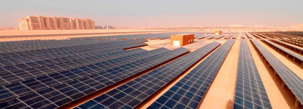 Dubai Awards $3.9b Solar Energy Contract