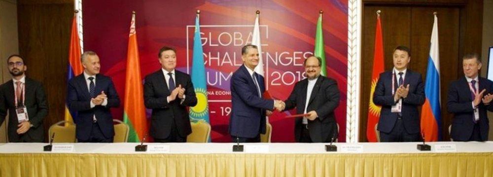Regional Economic Coop. Advances to New Level
