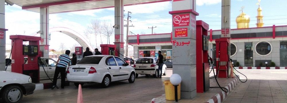 Gasoline Consumption at 80.4 ml/d