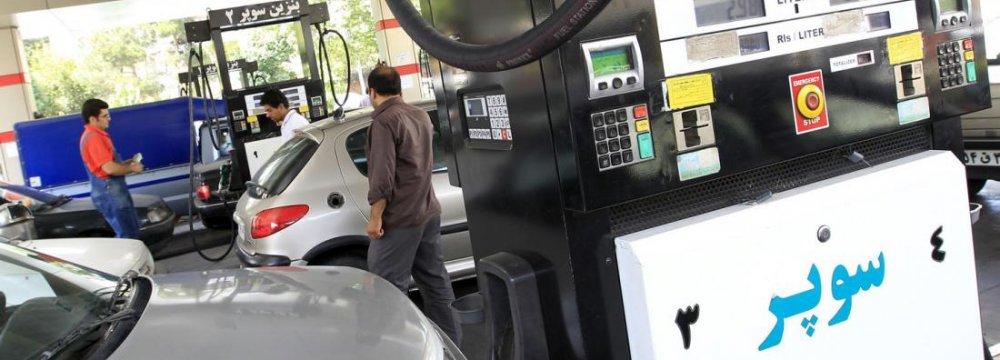 Gasoline Consumption Up 5%