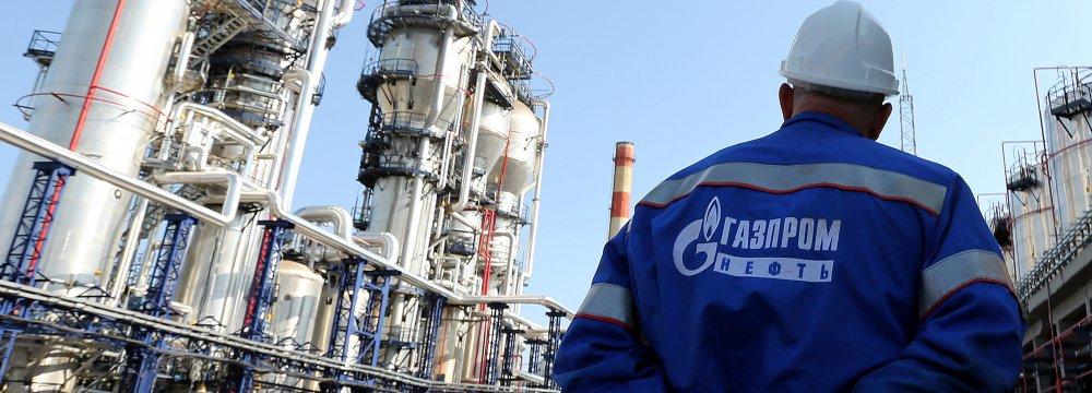NIOC, Gazprom Sign Gas MoUs