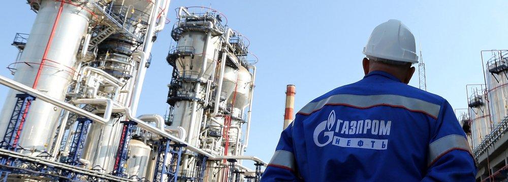 Gazprom Sharein Europe Market34%