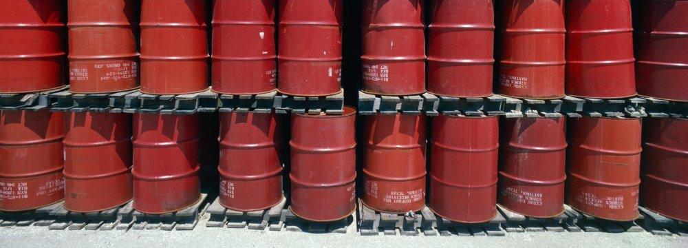 Iran's Light Crude Near $64