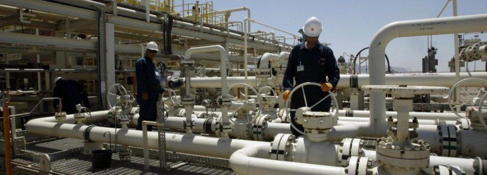 Shaikan Oilfield has a capacity of 40,000 bpd.