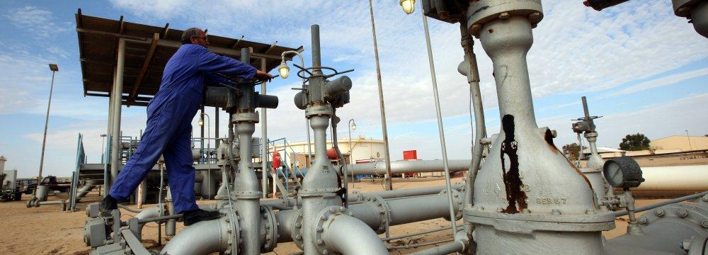 Libya's Oil Production Rises