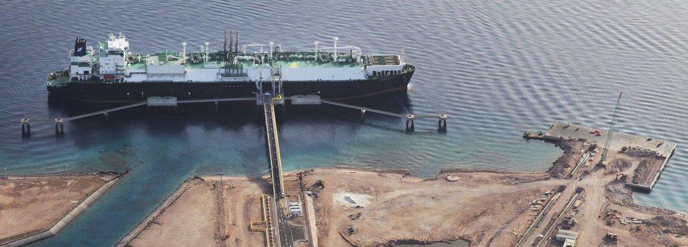 LPG Loading Pier Under Construction Near Asalouyeh