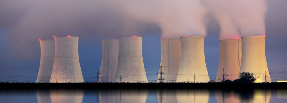 The French government aims to cut nuclear dependence.