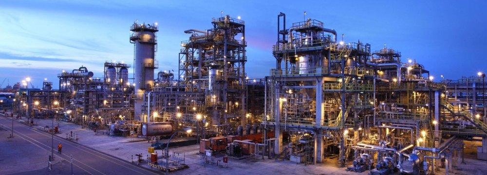Iranian Petrochem Plant to Increase Ethylene Output
