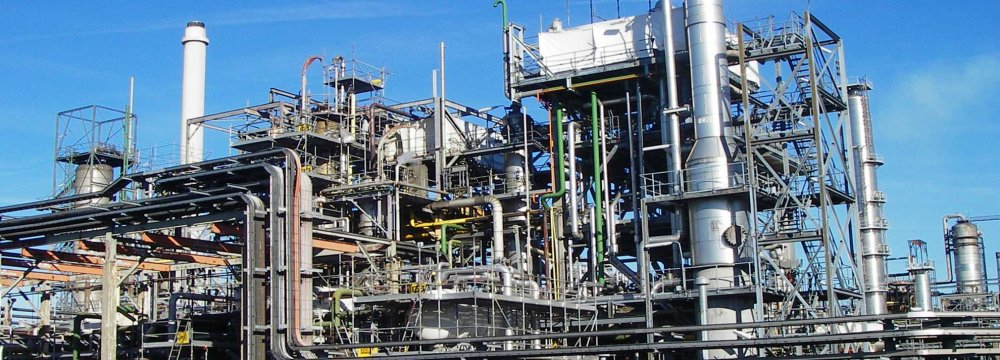 Iran is in negotiations with Germany's BASF SE, the world's largest chemical producer.