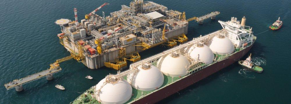 Qatar is world's biggest LNG exporter.