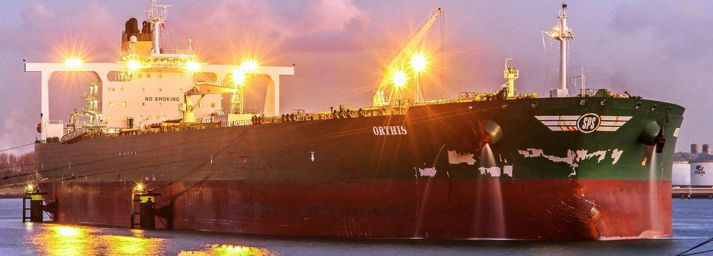 S. Korea's Iran Oil Imports Jump 27%