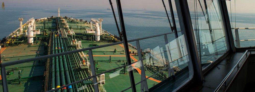 S. Korea Iran Crude Imports Up 15%