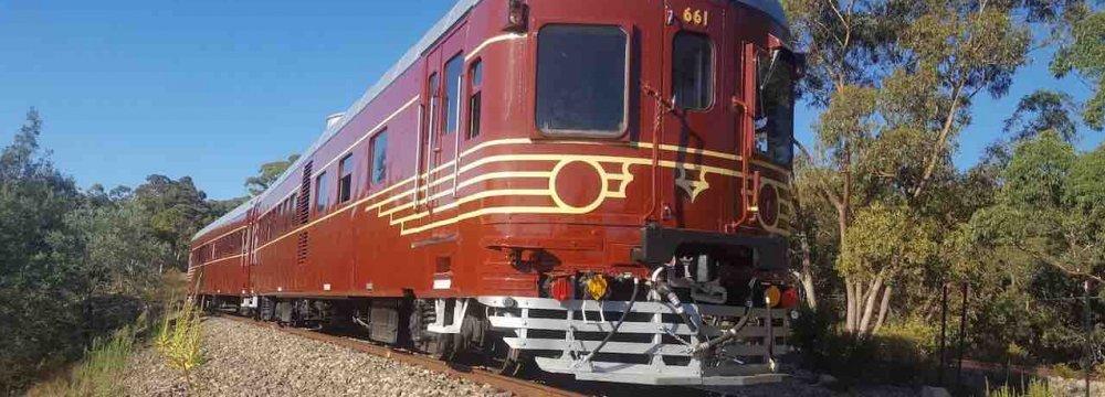 World's  1st Fully  Solar-Powered Train
