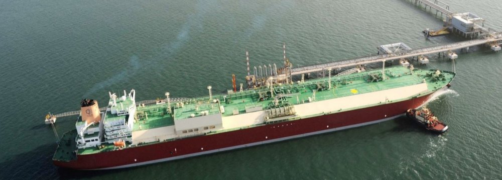 Iran's gas condensates exports reached a daily average of 550,000 barrels from around 150,000 barrels per day in 2012.