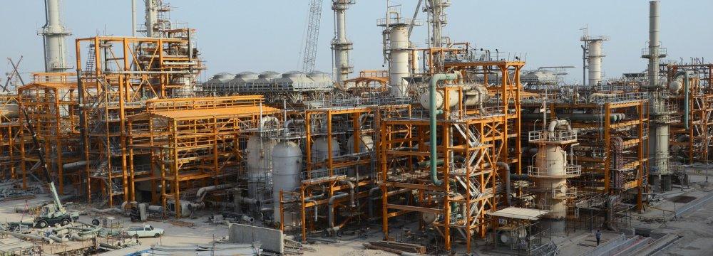 South Pars Gas Field facilities in Asalouyeh, Bushehr Province