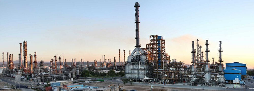 Tabriz Oil Refinery