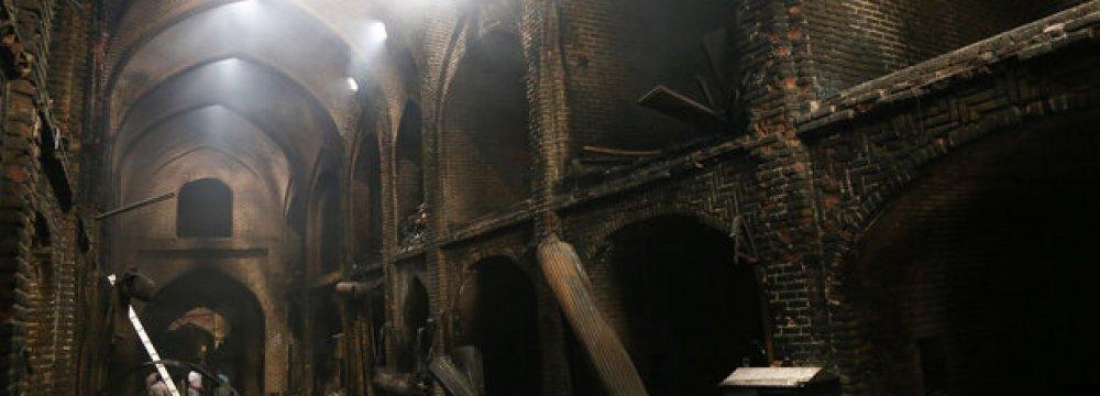 Tabriz Bazaar Fire Damage Estimated at $1.2m