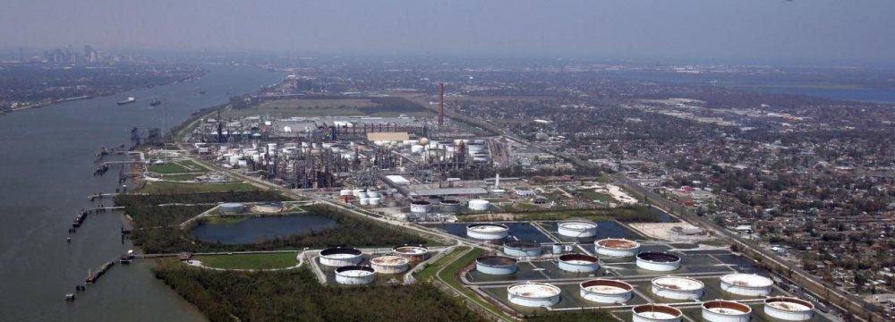 Oil Output on US Gulf Coast Curtailed as Hurricane Nears