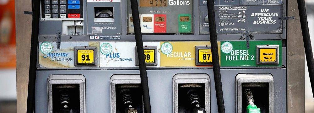 US Petroleum Demand High
